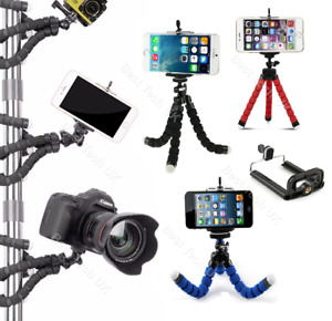 For Xiaomi Mi Mix 4 Phone Camera Tripod Flex Gorilla Octopus Mount Stand Selfie