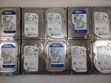 "LOT OF 10 SATA 320GB 3.5"" Desktop Hard Drives Major Brands"