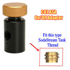 CO2 ASA On/Off Adapter For Fill Soda Stream SodaStream Tank Thread 1/8NPT