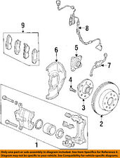 Acura HONDA OEM 98-99 CL Front Brake-Disc Rotor 45251S84G00