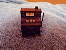 Pencil Sharpener: Novelty (Working) Slot Machine (Bronze colored)