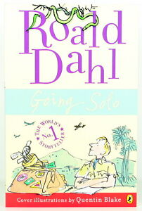ROALD DAHL classic GOING SOLO paperback pb story book - NEW!