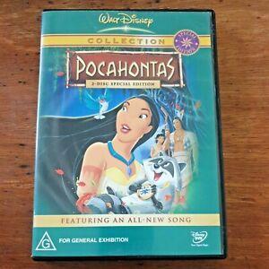 Pocahontas Walt Disney Collection  (2DVD set, 2004) R4 – VERY GOOD FREE POST