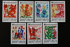 Timbre HONGRIE - Stamp HUNGARY Yvert et Tellier n°2696 à 2702 n** (Cyn15)
