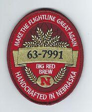 "173rd ARS KC-135R ""63-7991 HANDCRAFTED IN NEBRASKA"" patch"