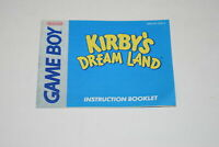 Kirby's Dream Land Nintendo Game Boy Video Game Manual Only