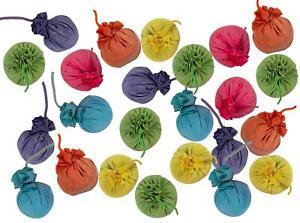 24 Kreidebomben Festival Farbbombe Kreisesäckchen ca. 5cm je bis zu 200 Würfe