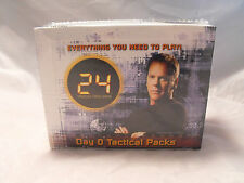 24 CCG TCG DAY 0 COMPLETE SEALED BOX OF 12 TACTICAL PACKS