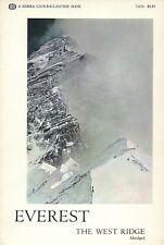 SHERPA TENZING NORGAY & THOMAS HORNBEIN SIGNED MOUNT EVEREST THE WEST RIDGE BOOK