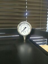 New listing 0-60 Psi/Bar Straight From Factory, New Ss/Ss Pressure Gauge,Liquid-Filled!