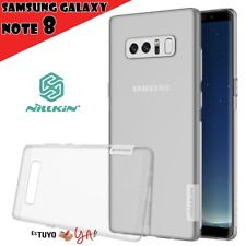 Funda Nillkin Nature para Samsung Galaxy Note 8 gel antideslizante transparente