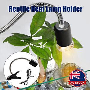 2xCeramic Heat UV UVB Lamp Light Holder For Chicken Brooder Reptile Basking