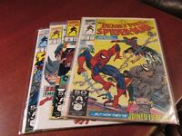 Marvel Comics The Deadly Foes of Spider-man #1,2,3,4 1991 Complete NM 9.4 ocbl3