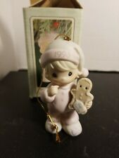 * Precious Moments - 530212 Wishing You The Sweetest Christmas Ornament