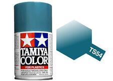 Tamiya 85054. Spray TS-54. Pintura esmalte color Azul Metalizado