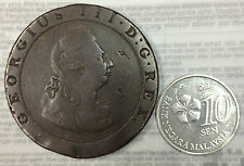 My world collection>1797 cart penny  coin  very big & nice!
