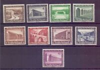 Dt. Reich 1936 - WHW Bauten - MiNr. 634/642 postfrisch** - Michel 80,00 € (761)
