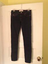 Juniors 3 Regular Hollister Blue Jeans W 26 L 31