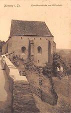 AK Kamenz i. Sa. Katechismuskirche um 1200 erbaut Postkarte gel. Bahnpost ZUG871