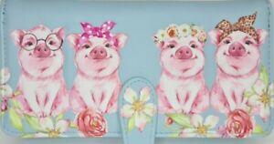 NEW SHAGWEAR CHEECKY PIGS LADIES WALLET