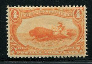 1898 Trans-Mississippi Expo Issue 4c orange Scott 287 MNH cat $330