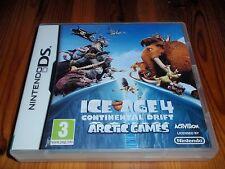 ICE Age deriva continental para Nintendo DS, Lite, DSi y 3DS