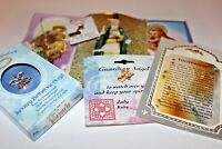 7 piece religious assortment St. Anthony necklaces St. Jude Footprints angels