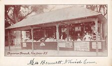 Boyton Beach, Nj ~ Food Stand, Ice Cream Sign ~ c. 1906