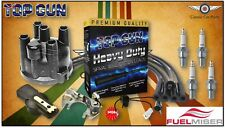 Ford Courier, Econovan Ign. Pack - Leads, Distributor Cap & Rotor, Spark Plugs