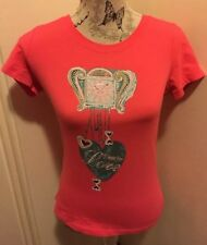 GORGEOUS AUTHENTIC MOSCHINO DESIGNER WOMENS TOP BLING SIZE 10