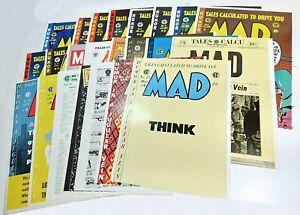 MAD Magazine Issues #1-23 Oversize Cover Prints Portfolio! 1988 Rare! LN!