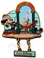 Disney Pin 54057 DLRP Through the Years Inauguration Eurodisney 1992 Mickey LE