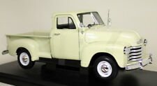 Nex 1/18 Scale - 1953 Chevrolet 3100 Pick-Up Truck Cream Diecast model Car