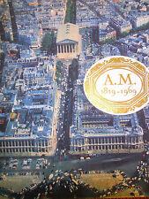 catalogue ouvrage 150 e anniversaire assurance mutuelles Seine et Oise ( ref 16