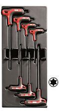 Usag 519/280hatx Serie 7 chiavi a Torx piegate con Impugnatura in termoformato