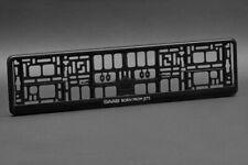 2 x SAAB Euro License Plate Frame