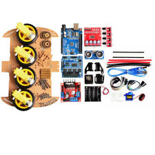 Avoid Tracking MOTORE INTELLIGENTE Robot Car Chassis 4WD ultrasuoni per Arduino