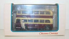 CORGI 1/76 OM45707 AEC Q DOUBLE DECK CARDIFF TRANSPORT