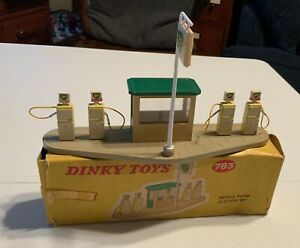 DINKY TOY 783 BP GAS STATION WITH 4 PUMPS BOXED!