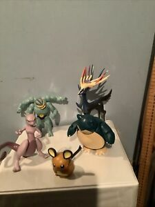 Collection Of Pokemon Figures. Used