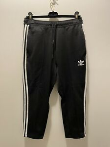 Adidas Originals Cropped Track Pants With Front Seam Size Small