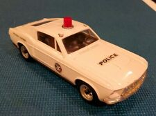 Working 1970s - Bump & Go Battery Operated Plastic POLICE HIGHWAY PATROL Car.