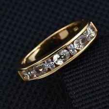 Rare Natural Turkish Diaspore/Csarite & Zircon 14K Y Gold/925 Ring Size M