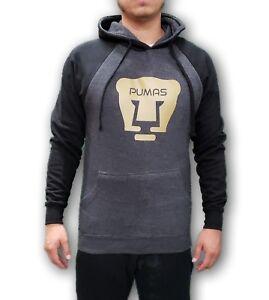 Pumas de la UNAM Men's Hoodie Sweatshirt with Front Pocket
