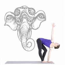 Wall Vinyl Sticker Decal Ganesh Om Elephant Tattoo Head Mandala Ornament Z2685