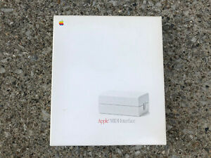 Apple MIDI Interface original box and manual A9M0103 vintage 1987