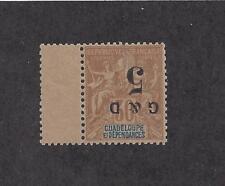 """GUADELOUPE - 45b TYPE a - MNH - 1903 - INVERT """"G & D"""" O/P"""