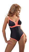 Ladies One Piece Swimming Costume, Swimwear for Women UK Size 10 12 14 16 18