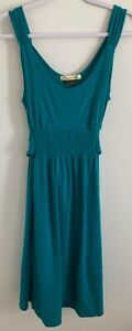 Old Navy Maternity Dress Women's SZ Medium Jade Green Sleeveless