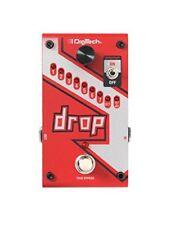 DigiTech Drop Pitch-shifter Effektpedal Drop-tune Polyphonisch E-gitarre